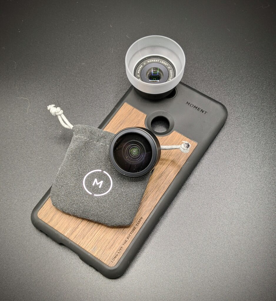 Moment phone case and lenses for my google pixel phone is the best combination I have found for phone photography.