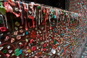 This is an alley that is covered in gum in Seattle. Kind of gross but visually amazing and I am sure most people do no even know it exists. That is why you should try being a local tourist.
